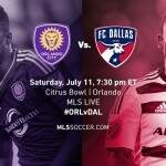 Orlando City SC x FC Dallas