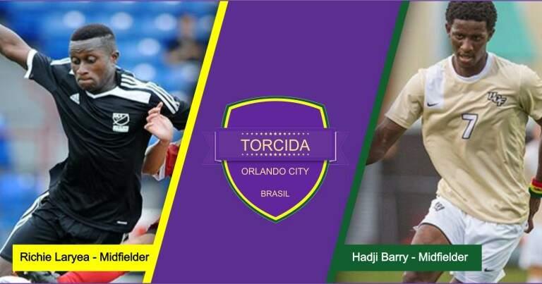 Orlando City Seleciona Meia Richie Laryea e atacante Hadji Barry na primeira rodada de SuperDraft MLS 2016