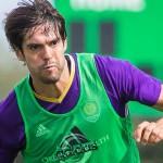 Kaká pronto para o jogo de domingo contra Portland